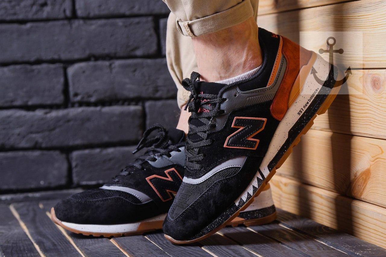 Кроссовки New Balance 997 черные, фото 1