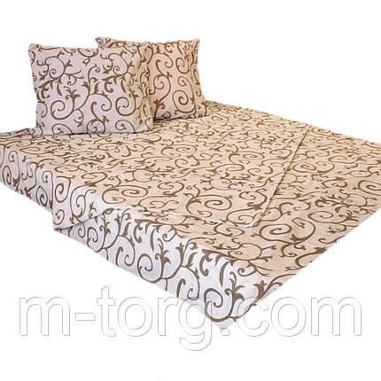Комплект постельного белья полуторный 150/220, нав-ки 70/70, ткань поплин, 100% состоит из хлопка , фото 2