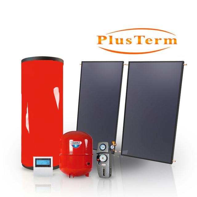 Комплект гелиоустановки PlusTerm №4