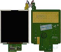 Дисплей (экран) для телефона Samsung C260, C160, C168, C450, C158, B100, B200 с платой  (C260, C266, C270) Original