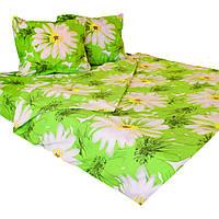 Комплект постельного белья евро размер 200/220, нав-ки 70/70, ткань поплин, 100% состоит из хлопка