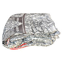 Одеяло двуспальное (175/210) холлофайбер, ткань поликоттон бязь