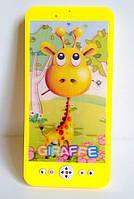 Детский мобильный телефон,светятся глазки,музыка (игрушечный телефон,телефончики),жираф