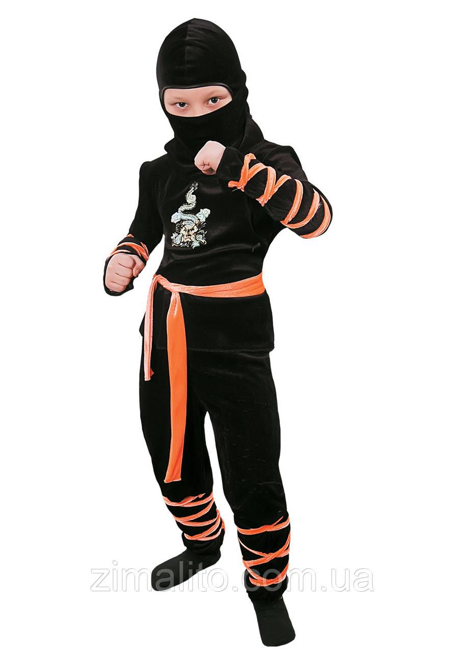 Ниндзя  карнавальный костюм детский