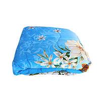 Одеяло двуспальное 180/220 шерсть овечья натуральная, ткань поплин