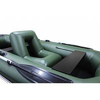 Надувное кресло для лодок со спинкой ширина 79 см  d=30см
