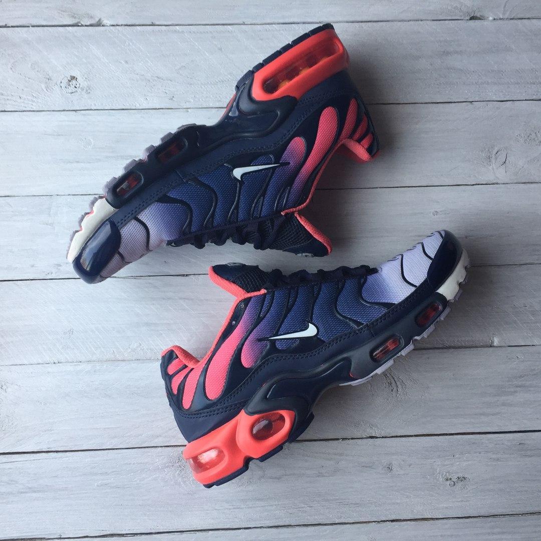 a5c8144e Nike Air Max Tn Plus Red/Black/Blue   кроссовки мужские; летние, ...