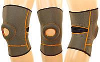 Наколенник неопреновый с открытой коленной чашечкой  р. S/M