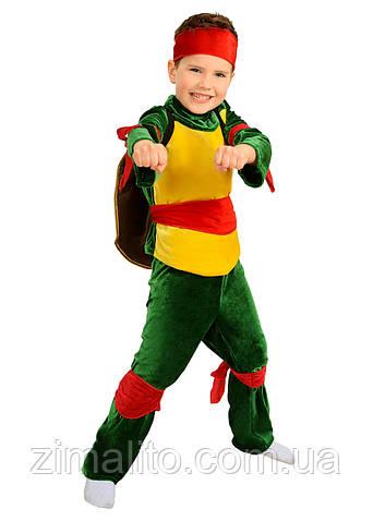 Черепашка Ниндзя карнавальный костюм детский