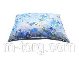 Подушка 50/70 см, downfill ( искусственный лебяжий пух ) , ткань тик
