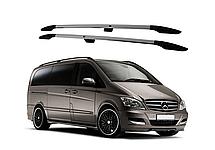 Рейлинги на Mercedes Vito W639 (2003-2014) с металлическим креплением