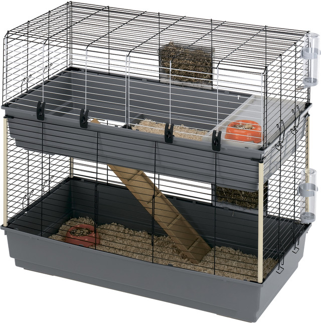 Ferplast RABBIT 120 DOUBLE Двухэтажная клетка для кролика