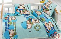 Комплект постельного белья в кроватку Class Ayicik v3 Mavi