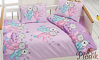 Комплект постельного белья в кроватку Class Dus v1 Pembe