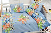 Комплект постельного белья в кроватку Class Dus v2 Maviа
