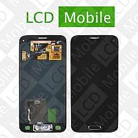 Дисплей для Samsung Galaxy S5 mini G800, G800H с сенсорным экраном, черный, модуль, дисплей + тачскрин