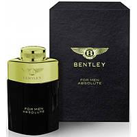 Мужская туалетная вода Bentley For Men Absolute edt 100ml