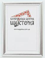Рамка для документов А5, 15х21 Серебро