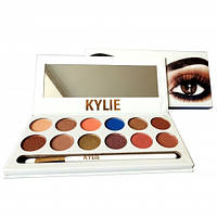 Палитра теней KYLIE The Royal Peach Palette 12 оттенков