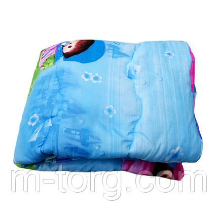 Одеяло детское холлофайбер 110/150 ткань поликоттон, фото 2