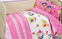 Комплект постельного белья в кроватку Class Happy v2 Pembe