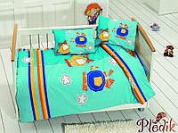 Комплект постельного белья в кроватку Class Sky v2 Turkuaz