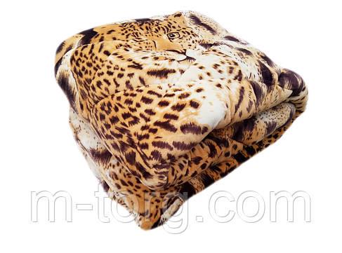 Плед-одеяло полуторный 150/210, микрофибра, велюр иск., фото 2