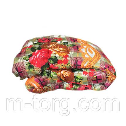Одеяло двуспальное (175/210) холлофайбер, ткань поликоттон бязь, фото 2