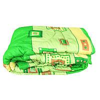 Одеяло евро размер холлофайбер, ткань бязь