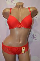 Нижнее женское белье, красный комплект LuLoLa