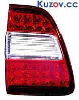 Фонарь задний Toyota Land Cruiser 100 05-08 левый (DEPO) внутренний Led 212-1327L-A