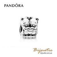 Pandora шарм ЛУЧШИЕ ДРУЗЬЯ #792151 серебро 925 Пандора оригинал