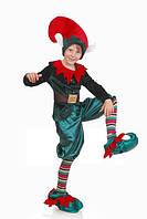 Новогодний эльф карнавальный костюм для мальчика