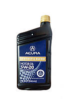 Масло моторное acura synthetic blend 5w-20, 0.946л