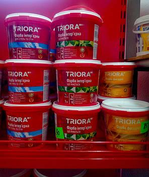 Фарба інтер'єрна для стель та стін ТМ TRIORA .5 л, фото 2
