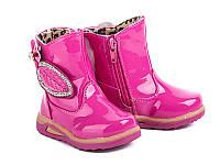 Детская обувь. Ботинки на девочек оптом от фирмы GFB G1210-2 (8 пар, 20-25)