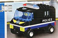 """Конструктор Zihling """"Полицейский грузовик"""" 91 деталь"""