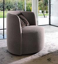 Современное круглое вращающееся кресло Chloè фабрика Ditre Italia