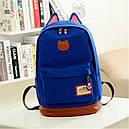Рюкзак женский Котик (ярко синий), фото 2