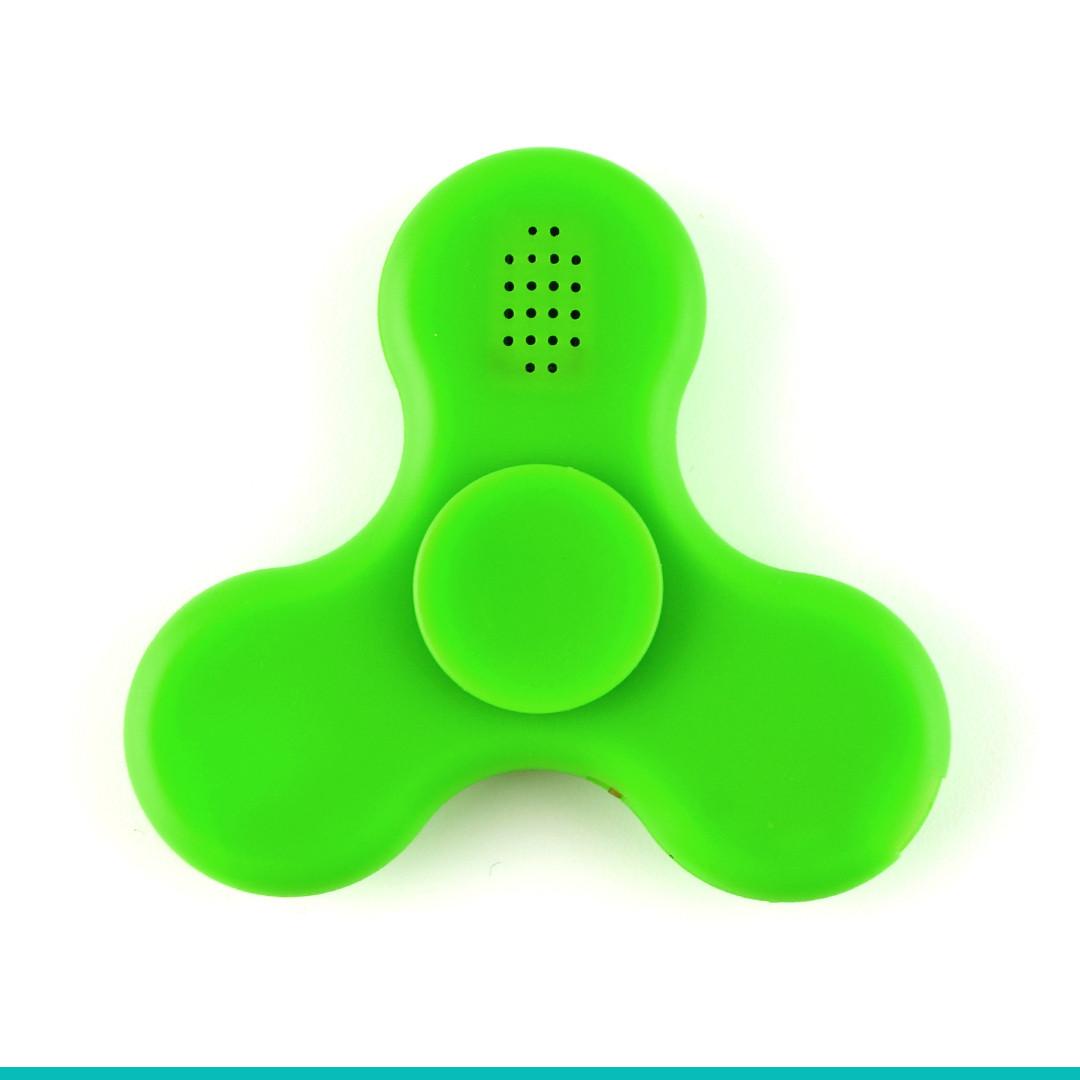 Спиннер пластиковый Bluetooth с Led- подсветкой и Mp3