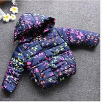 Демисезонная детская куртка плащевка на синтепоне в бабочки размеры  86-92 98-104 110-116 122-128
