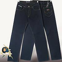 Джинсы мужские классические прямые чёрно-синие Big сovers стиль Wrangler