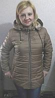 Дешевая Молодежная женская куртка с капюшоном (42-48), доставка по Украине