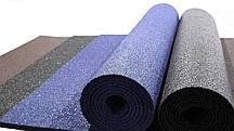 Гумовий килимок 1200х2400х10 синій