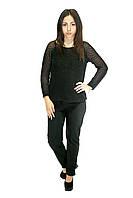 Элегантные женские брюки, цвет - черный, фото 1