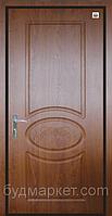 Двери входные металл/МДФ Метр Дор Регион MD 027, 960*2050, L, (венге светлый) 1 замок