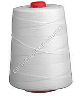 Нитка для мешкозашивочных машин, 20S/6, белая, 200 г.