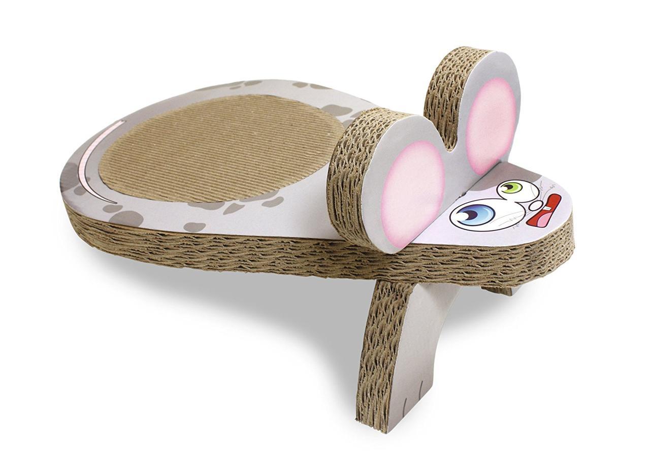 Croci C6020332  драпак Мышка  для котят 25 x 45 x 20 cm (картон)