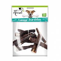 Лакомство ПЕСиК Рубец для собак говяжий сушеный, 1 кг