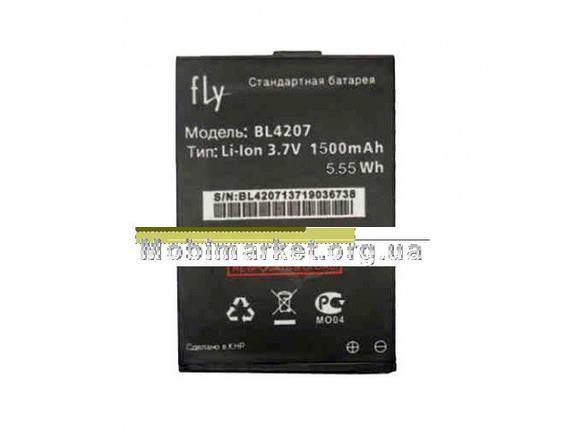Акумулятор BL4207 для Fly Q110 (1500mAh), фото 2